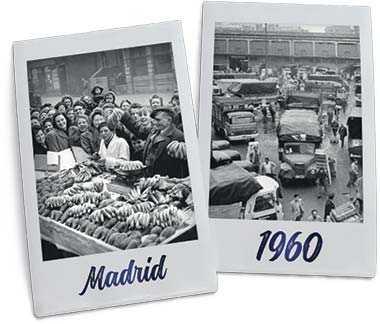 GPL - Plátanos López Madrid 1960