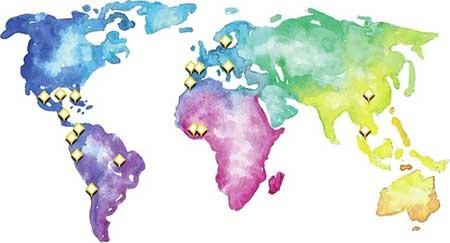 GPL - Plátanos López - Mapa