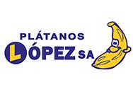 Logotipo Plátanos López - 1972