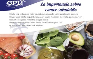 importancia de comer saludable